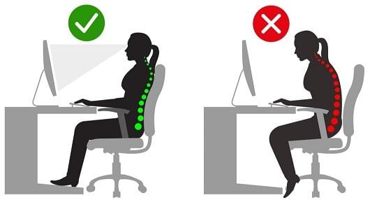 lichaamshouding-computer-bureau-informatie-brace